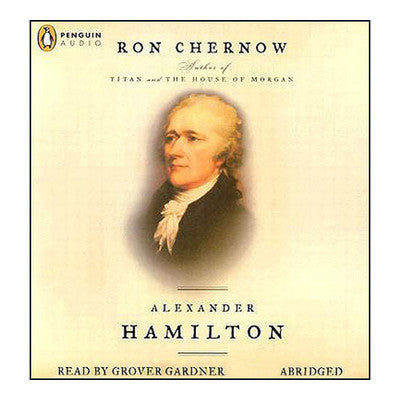 Alexander Hamilton  By Ron Chernow Audiobook MP3 - Books with Benefits