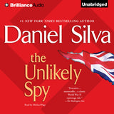 The Unlikely Spy by Daniel Silva  Audiobook
