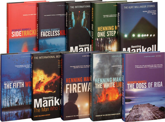 Kurt Wallander Series 1 -11 by Henning Mankell Ebooks - Books with Benefits
