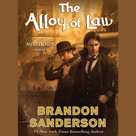 The Alloy of Law by Brandon Sanderson (Mistborn #4) Audiobook MP3 - Books with Benefits