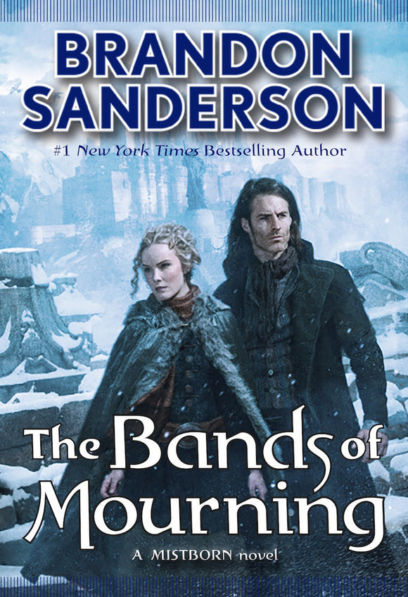 The Bands of Mourning by Brandon Sanderson (Mistborn #6) Audiobook MP3 - Books with Benefits
