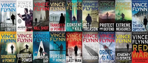 Mitch Rapp Series 1-16 by Vince Flynn and Kyle Mills Ebooks - Books with Benefits