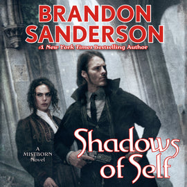 Shadows of Self by Brandon Sanderson (Mistborn #5) Audiobook MP3