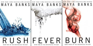Breathless Series 1-3 by Maya Banks Ebooks - Books with Benefits