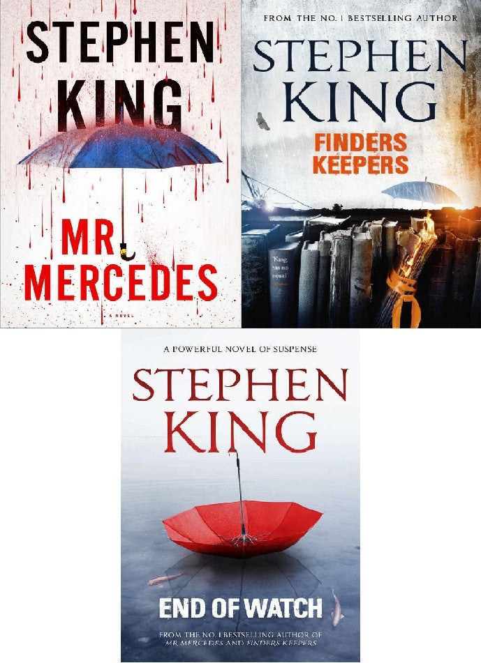 The Bill Hodges Trilogy - Stephen King (2016, EBOOK)