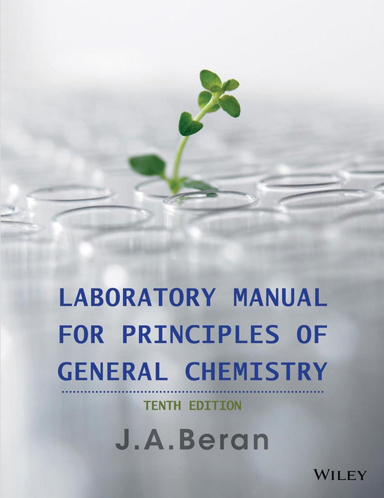 Laboratory Manual for Principles of General Chemistry, 10th Edition PDF