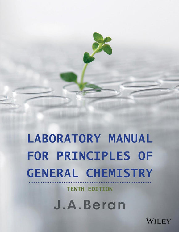 Laboratory Manual for Principles of General Chemistry, 10th Edition PDF - Books with Benefits