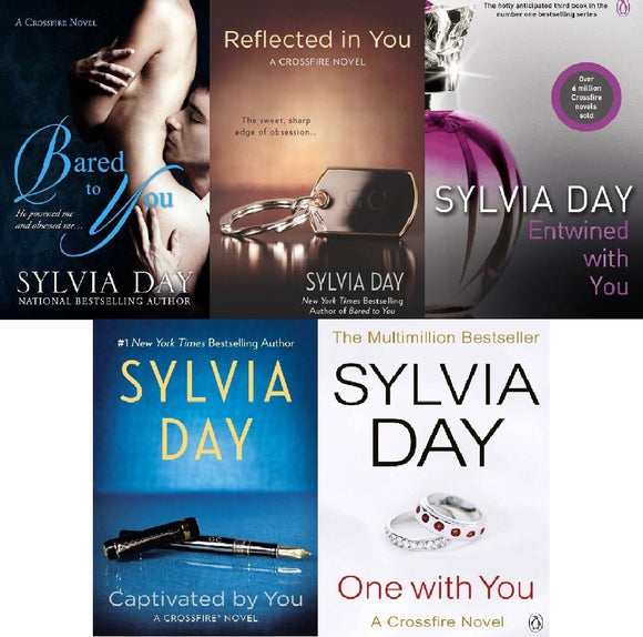 Crossfire Complete Series - Sylvia Day Audiobooks Digital MP3 - Books with Benefits