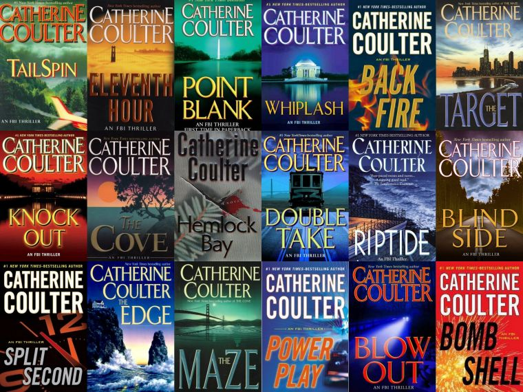 Catherine Coulter eBook 1978-2017 Collection