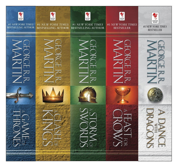 Game of Thrones 5 ebook Series by George R.R. Martin - Books with Benefits