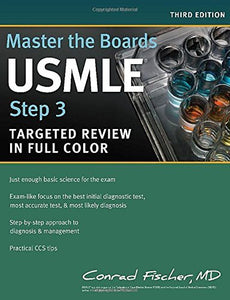 Master the Boards USMLE Step 3 Third Ed by Conrad Fischer MD (eTextbook) - Books with Benefits