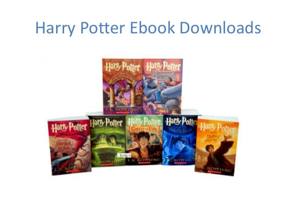 Harry Potter Complete Series 1-7 - J.K. Rowling eBooks - Books with Benefits