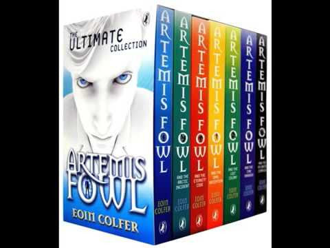 Artemis Fowl 1-8- Eoin Colfer Audiobooks MP3 - Books with Benefits