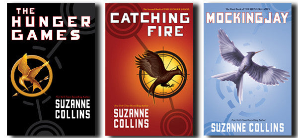 The Hunger Games by Suzanne Collins 1-3 Ebooks