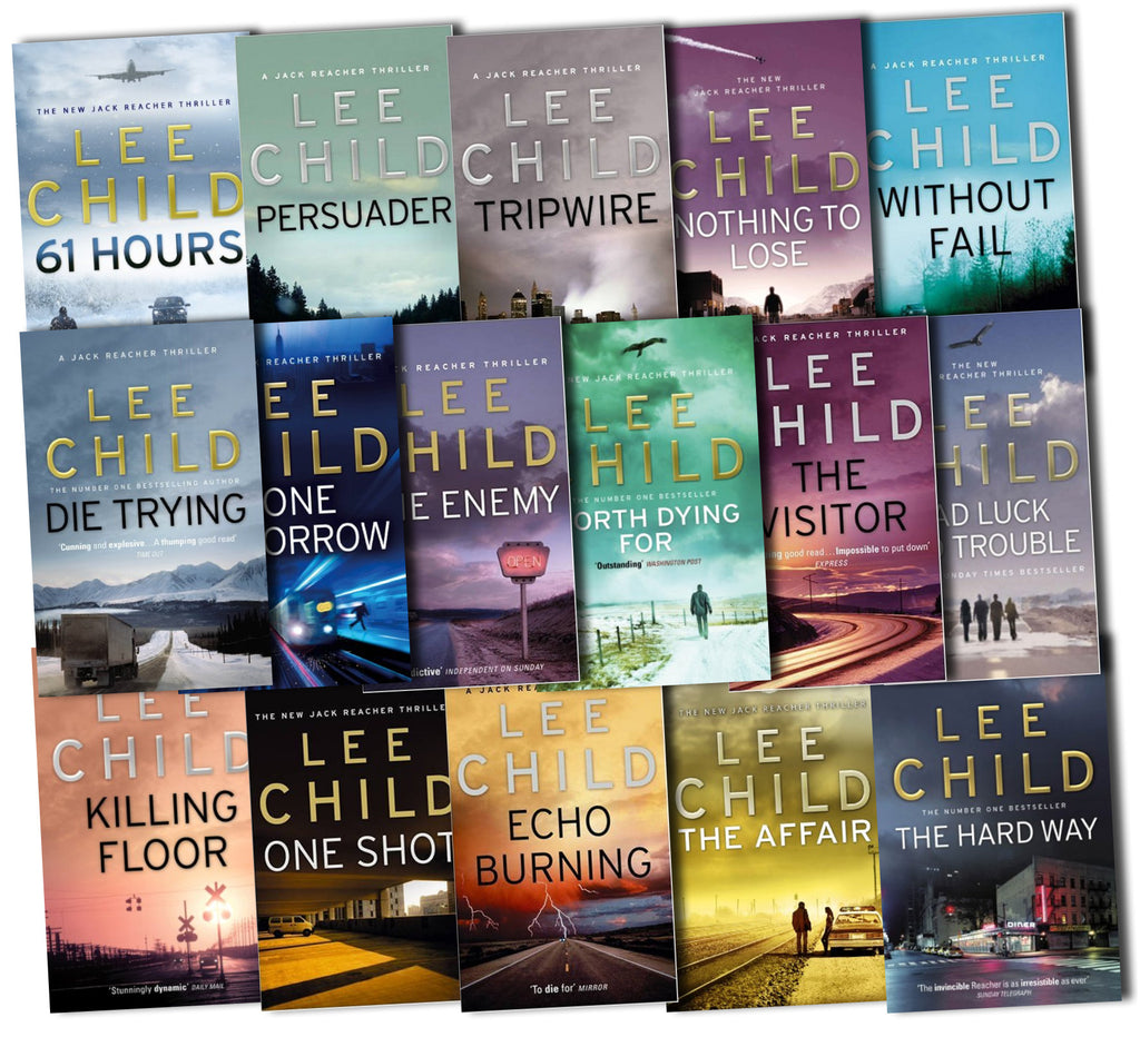 Jack Reacher by Lee Child 1-21 Ebooks Collection
