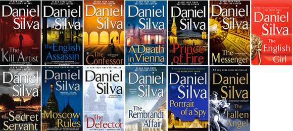 Gabriel Allon 1-16 Collection by Daniel Silva Ebooks - Books with Benefits