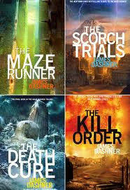 The Maze Runner Series by James Dashner Ebooks - Books with Benefits