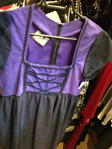 Purple mideval dress o