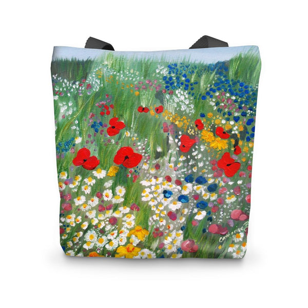 Floral Tote Bag - Catherine Bhogal Cwtch my Art