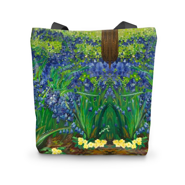 Bluebells Tote Bag - Catherine Bhogal Cwtch my Art
