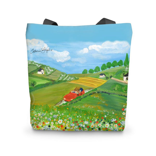 Day Tripper designed by Catherine Bhogal Tote Bag - Catherine Bhogal Cwtch my Art
