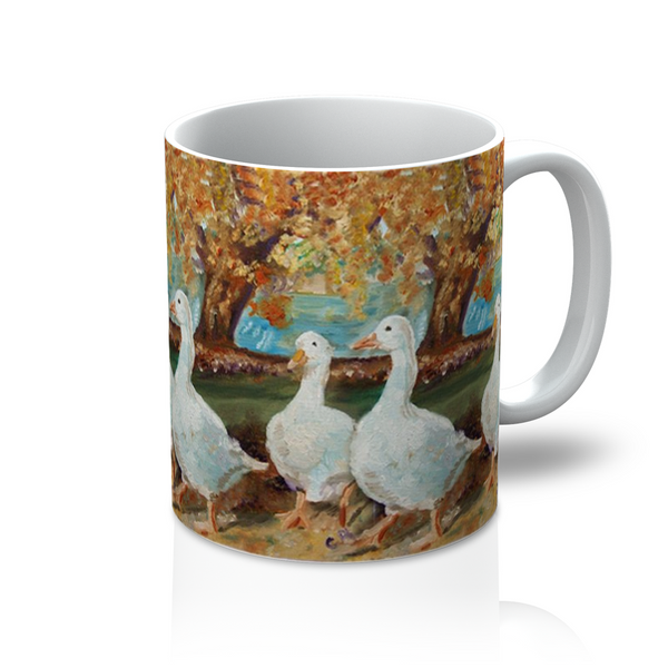 A walk in the park Mug - Catherine Bhogal Cwtch my Art