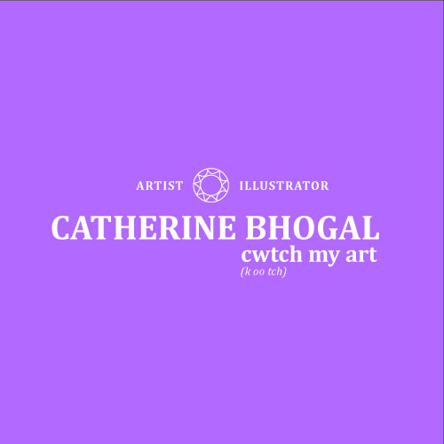 Catherine Bhogal Cwtch my Art