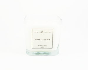 Peony + Moss Classic Collection Candle