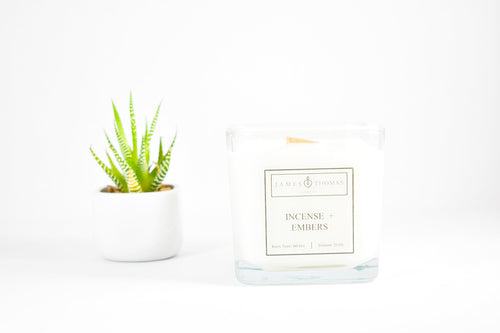 Incense + Embers Classic Collection Candle