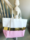 Beach Bag tote - Pink - AH Boutique