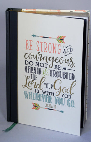 Prayer Journal- Be Strong and Be Courageous ...!