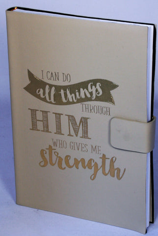 Prayer Journal- I can do all things through Him who gives me strength...!