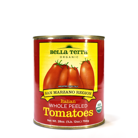 Tomatoes-Whole Peeled Organic