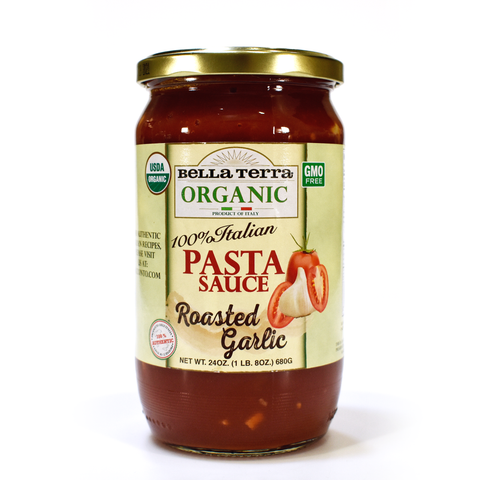 Pasta Sauce-Organic Roasted Garlic