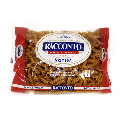 Whole Wheat Rotini / Springs - 16 oz.