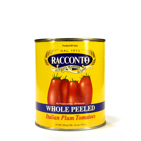 Tomatoes-Imported Whole Peeled Italian Plum