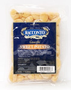 Gnocchi with Sweet Potato (Potato)