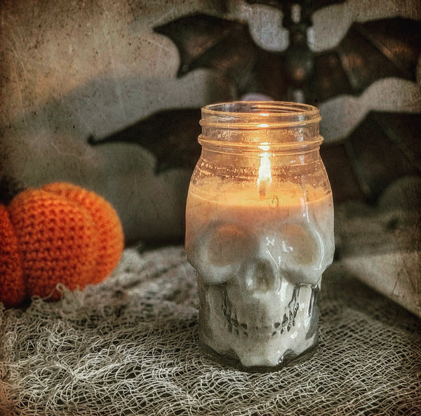 MR. BONES - Skull Candle (OUT OF STOCK UNTIL ~9/29)