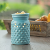 Midsize Teal Blue Electric Wax Warmer, Wax Melter