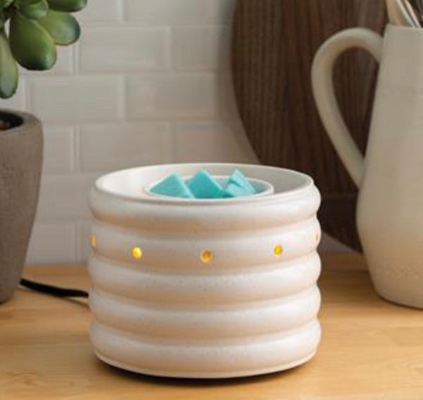 Farmhouse with FAN - Electric Wax Warmer, Wax Melter
