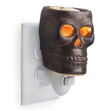Skull Plug In Electric Wax Warmer, Wax Melter