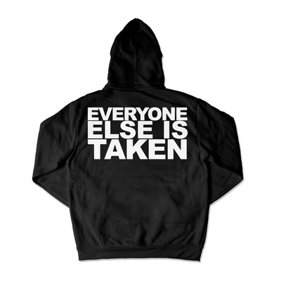 Just Be Yourself Hoodie / Black