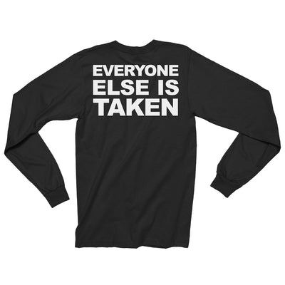 Just Be Yourself Long Sleeve / Black