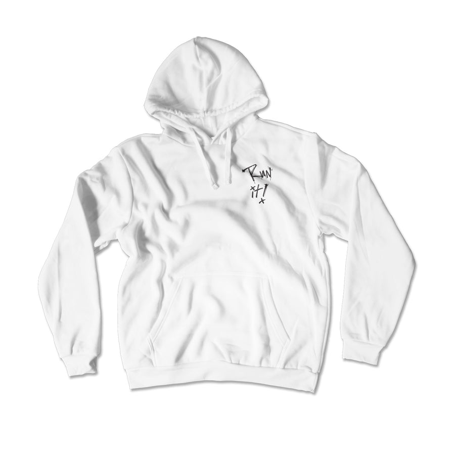 Run It Hoodie / White
