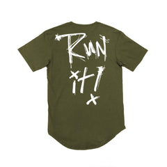 Run It Scoop Tee / Olive