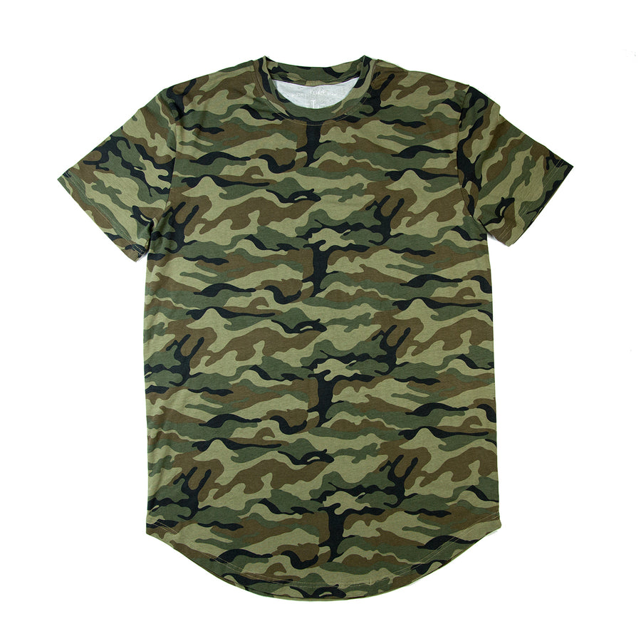 Run It Til You Die Scoop Tee / Camo