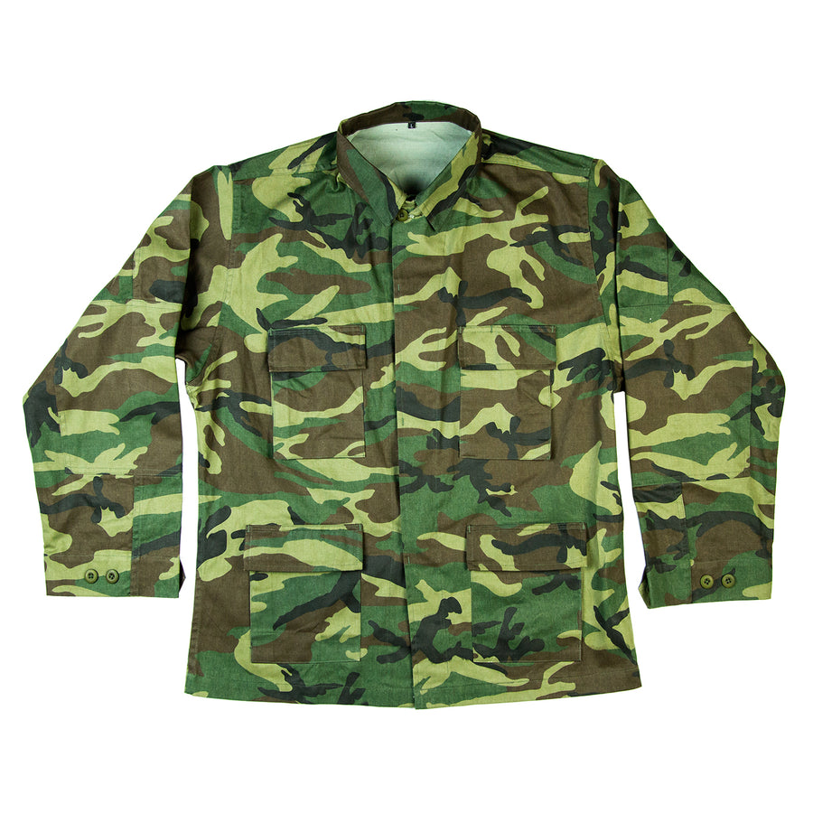 Fear Is Only Skin Deep Military Jacket / Camo