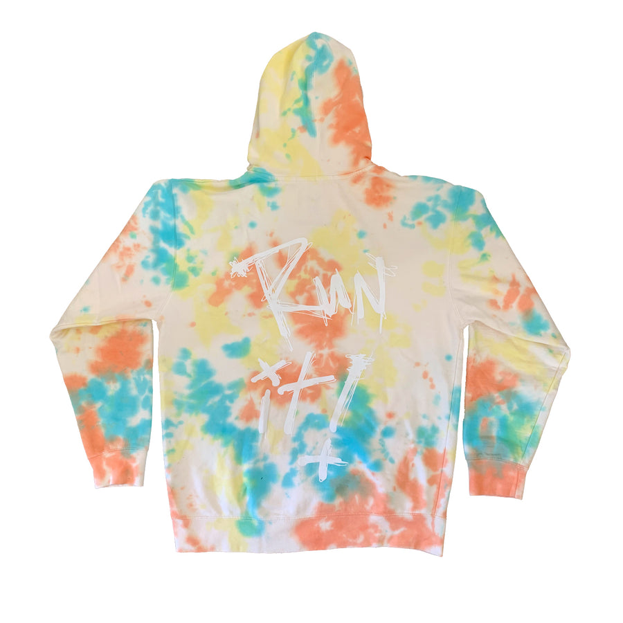 Run It Tie Dye Hoodie