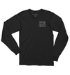 Dream Create Inspire Long Sleeve / Black