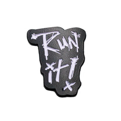 Run It Enamel Pin